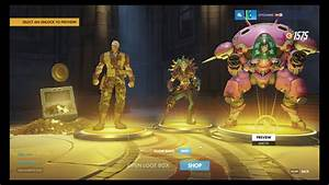 Overwatch 4 Gold Rewards In 1 Box YouTube