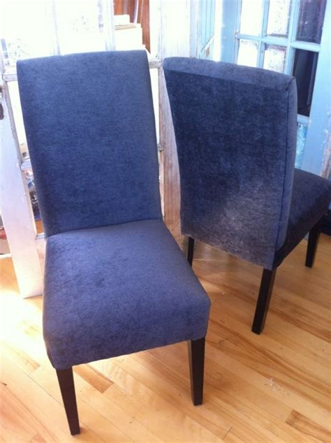 In Home Reupholstering by Diy Re Upholster Your Parsons Dining Chairs Tips From A