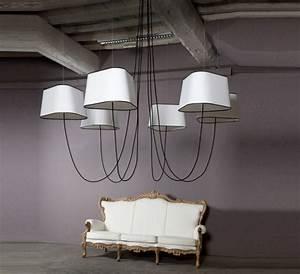 Grand Lustre Design : plafonnier lustre ou suspension il faut choisir ~ Melissatoandfro.com Idées de Décoration
