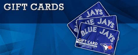 Maybe you would like to learn more about one of these? Gift Card to go see the Blue Jays!   Blue jay gifts, Gift card, Christmas wishes