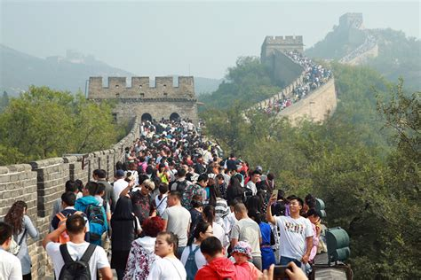 China To Wire Great Wall For High Tech Tourism Caixin Global