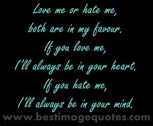 My Mom Hates Me... Love Favour Quotes