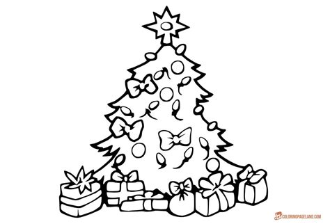 betty page under the christmas tree tree coloring pages free to and print