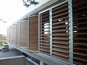 Brise Soleil Horizontal : brise soleil en pvc en composite en bois en ~ Melissatoandfro.com Idées de Décoration