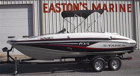 Tahoe Boats For Sale In Oklahoma by 1990 Tahoe 195 Boats For Sale In Oklahoma