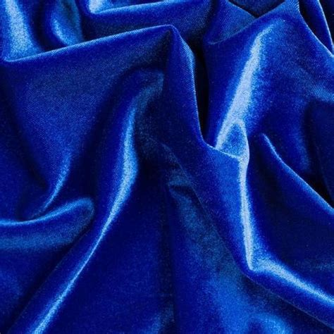 Blue Material Background by Blue Plain Velvet Fabric Gsm 100 150 Rs 150 Meter