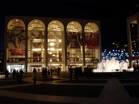 Metropolitan Opera House  Lincoln Center By Wallace