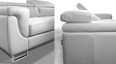 relooker un canapé en cuir canape blanc cuir design canape design cuir blanc canap