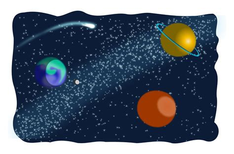 cosmic space clipart clipground