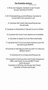 the best friend contract by xtwilight samox on deviantart With funny contract template