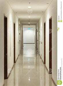 Design Ceiling Of The Corridor Hotel