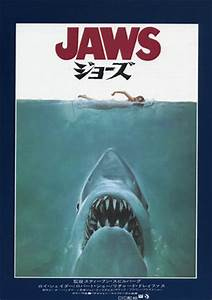 Flyers Design Products Jaws Japanese Movie Poster B5 Chirashi