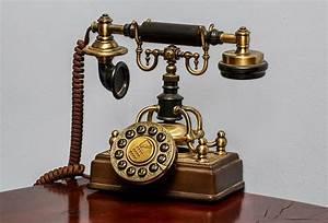Old Style Classic Telephone Image