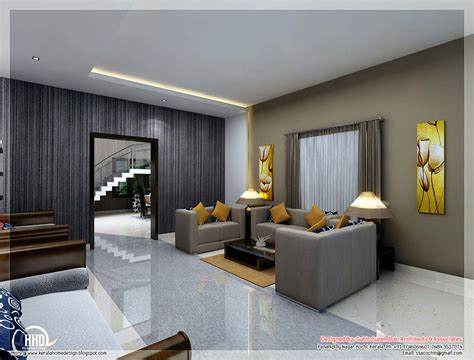 home design interior photos awesome 3d interior renderings kerala home design and
