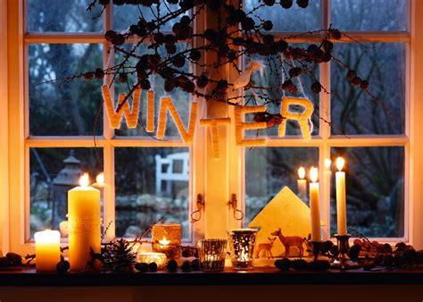 Weihnachtsdeko Fensterbank Bilder by Fensterbank Im Winter Weihnachten Fensterdeko