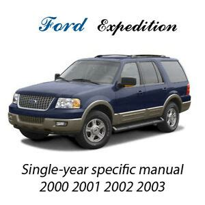 manual repair free 2000 ford excursion navigation system ford expedition 2000 2001 2002 2003 2004 2005 2006 workshop repair manual pdf cd ebay
