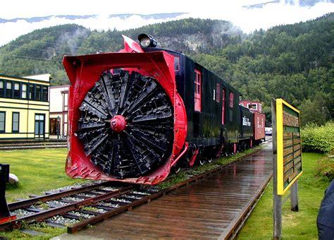 snowblower train skagway alaska