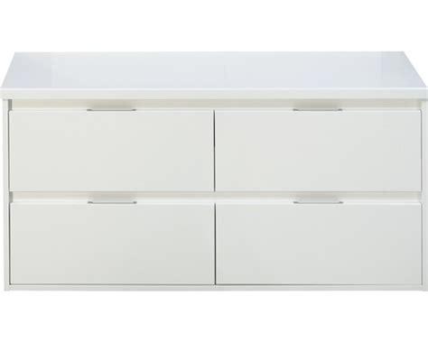 wastafelonderkast porto badmeubel porto wit hoogglans met 4 laden en bovenblad
