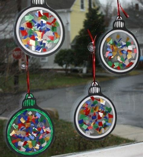 Weihnachtsdeko Für Fenster Basteln Mit Kindern by 100 Tolle Weihnachtsbastelideen Archzine Net
