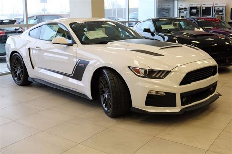 white ford mustang for 2017 stage 3 roush ford mustang gt 5 0l v8 oxford white