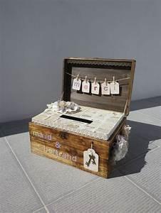 Urne Mariage Champêtre : 1000 images about mariage urne on pinterest pique ~ Melissatoandfro.com Idées de Décoration