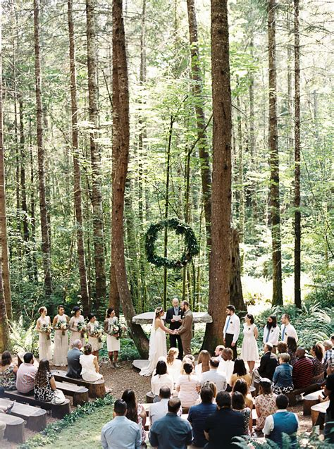beautiful forest wedding venues  seattle