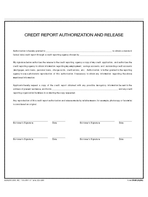 credit authorization form   templates   word