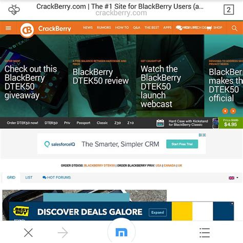 tip best replacement browser for bb10 blackberry forums at crackberry