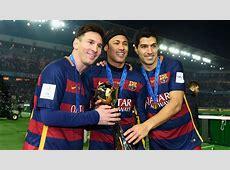 Messi Neymar Luis Suarez best in Barcelona history Villa