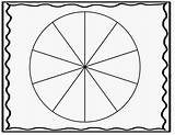 Spinner Clipart Blank Template Printable Clip Wheel Section Cliparts Circle Grade Library Clipground Personal sketch template