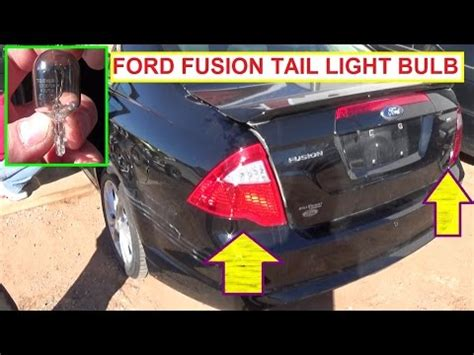 2012 ford fusion tail light vote no on how to replace a brake light