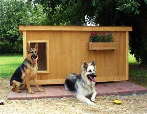 dog houses and dog house plans fun animals wiki videos With german shepherd dog house plans