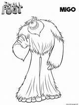 Smallfoot Coloring Migo Printable Compagnie Yeti Coloriage Movie Dessin Cartoon Cinecity Kinderen Pokemon Colorear Pie Sheets Vlissingen Bioscoop Terneuzen Theater sketch template