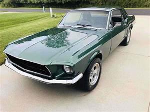 1968 Ford Mustang Sportscar Green Rwd Manual