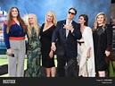 "LOS ANGELES - JUL 9:Dan Aykroyd, Donna Dixon, Belle Aykroyd, Stella Aykroyd, Danielle Aykroyd & Augusta Aykroyd arrives to ""Ghostbusters"" LA ..."