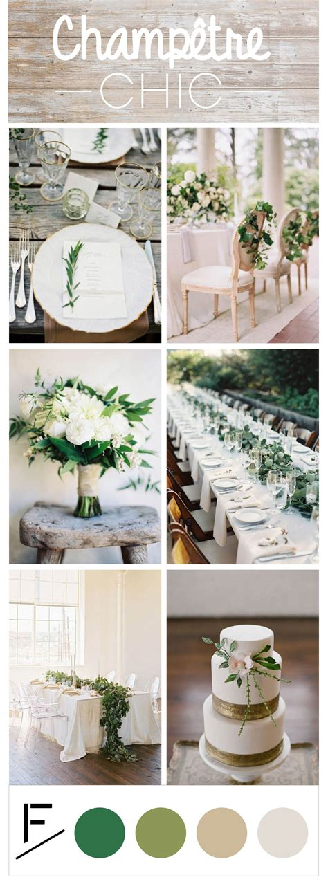 mariage champetre chic idees de decoration wedding