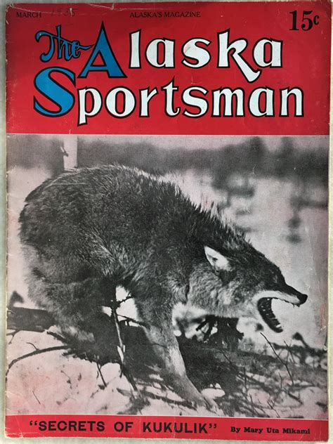 alaska sportsman magazine  alaska magazine