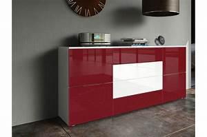 Buffet Blanc Pas Cher : meuble buffet design pas cher ~ Teatrodelosmanantiales.com Idées de Décoration