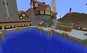 Medieval Harbor Minecraft Project