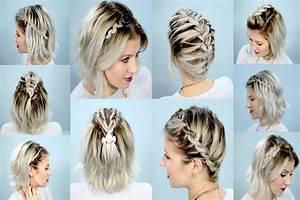 Tresse Cheveux Courts : tresses cheveux courts quelques id es pour se coiffer ~ Melissatoandfro.com Idées de Décoration