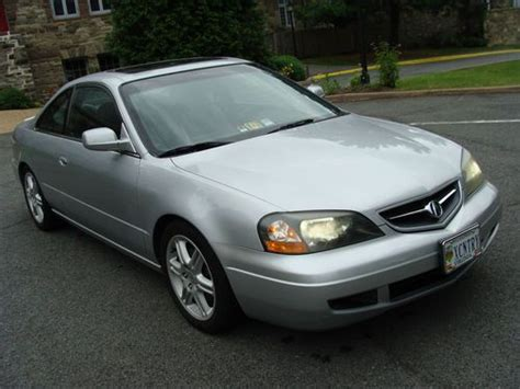 find used 2003 acura cl type s rare 6 speed manual trans low miles beautiful condition in