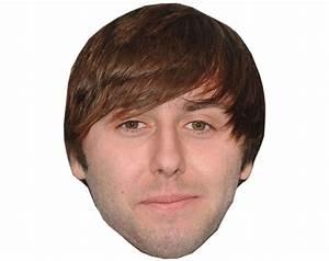 Cardboard Celebrity Masks of James Buckley-Lifesize ...