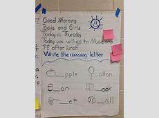 Morning message idea Preschool Ideas Morning Message