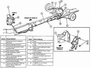 Parking Brake Cable - Ford Forums