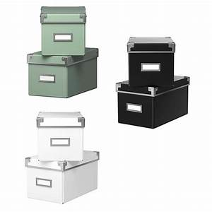 Ikea Aufbewahrungsboxen Mit Deckel : ikea aufbewahrungsbox mit deckel kassett 2 st ck 26x16x15 cm ebay ~ Watch28wear.com Haus und Dekorationen