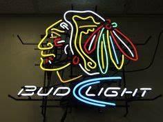 Neon Beer Sign Chicago Bulls NBA Basketball