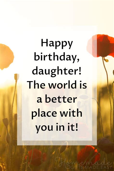 happy birthday daughter wishes quotes