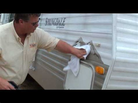 how to remove vinyl rv graphics and ghost letters remove black streaks from rv cer exterior and vinyl 59607