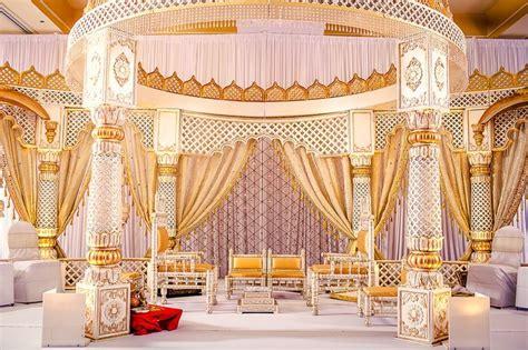 soma sengupta indian wedding decorations white gold