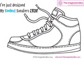 sneakers designer design your coolest sneakers with this free pdf design sheet color pages